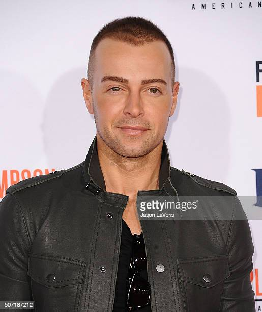 Actor Joey Lawrence attends the premiere of American Crime Story The People V OJ Simpson at Westwood Village Theatre on January 27 2016 in Westwood...