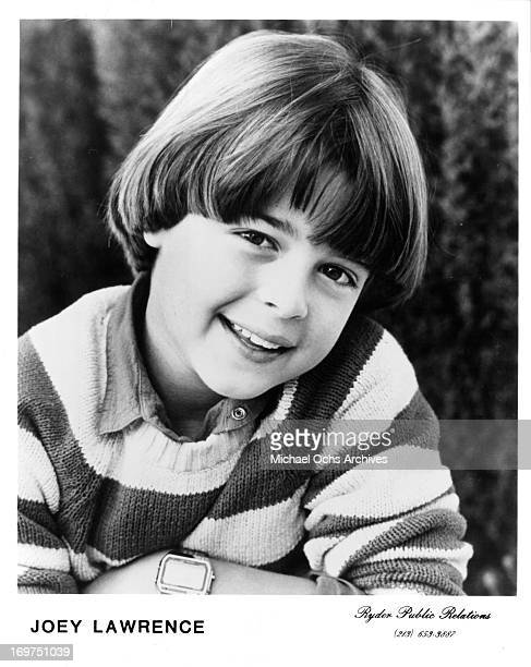 Actor Joey Lawrence poses for a portrait in circa 1983