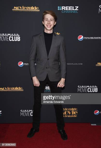 Actor Joey Luthman arrives at the 26th Annual Movieguide Awards Faith And Family Gala at the Universal Hilton Hotel on February 2 2018 in Universal...