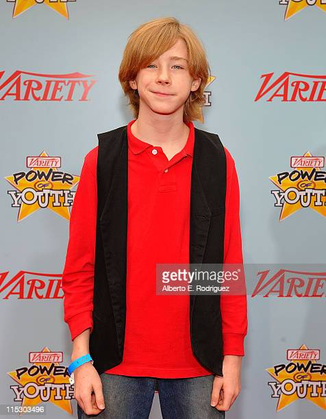 Actor Joey Luthman arrives at Variety's 3rd annual 'Power of Youth' event held at Paramount Studios on December 5 2009 in Los Angeles California