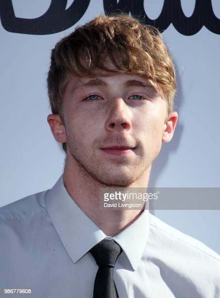 Actor Joey Luthman attends GenZ Studio Brat's premiere of Chicken Girls at Ahrya Fine Arts Theater on June 28 2018 in Beverly Hills California
