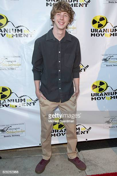 """Actor Joey Luthman attends """"The Man Who Saved The World"""" premiere during the Atomic Age Cinema Fest at Raleigh Studios on April 27, 2016 in Los..."""