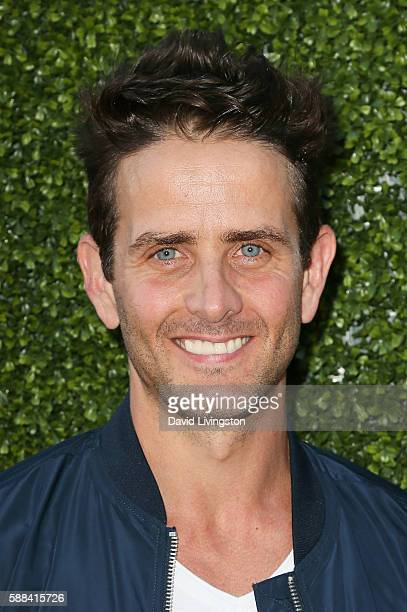 Actor Joey McIntyre arrives at the CBS CW Showtime Summer TCA Party at the Pacific Design Center on August 10 2016 in West Hollywood California