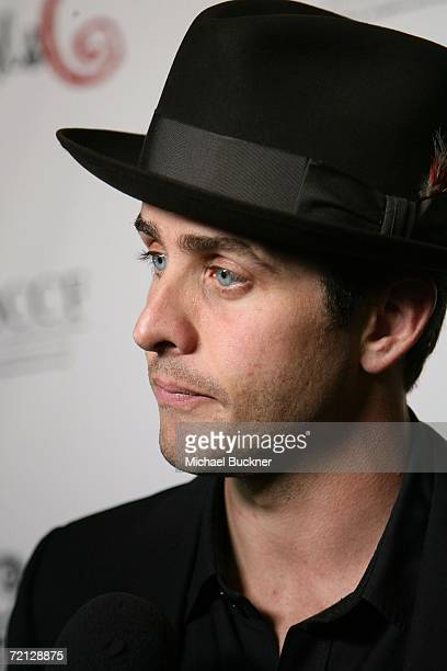 Actor Joey McIntyre arrives at the Les Girls 6 Cabaret Show at Avalon on October 9, 2006 in Los Angeles, California.