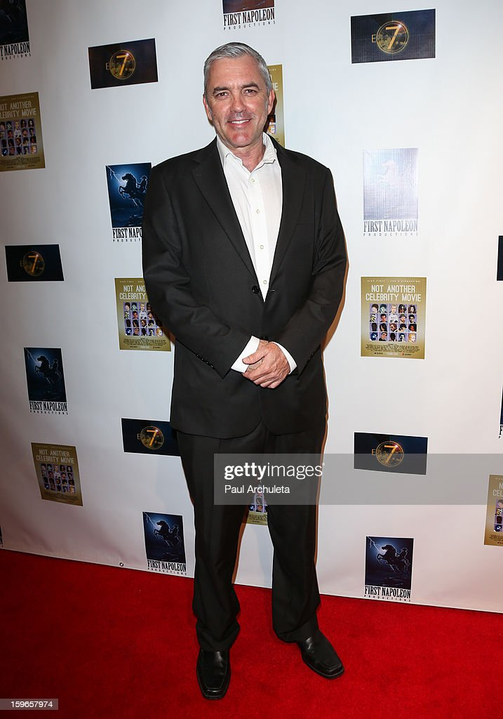 Actor Joey Sagal attends the premiere for 'Not Another Celebrity Movie' at Pacific Design Center on January 17, 2013 in West Hollywood, California.