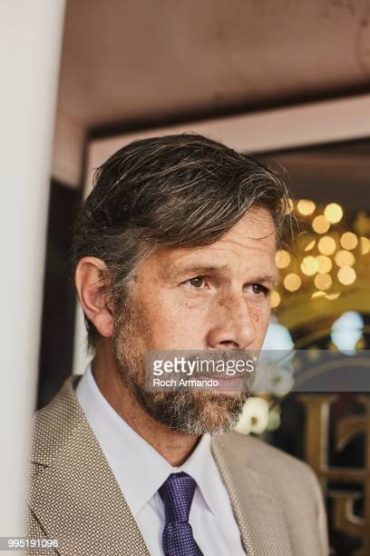 Actor Johan Heldenbergh is photographed for Self Assignment on June 2018 in Cabourg France