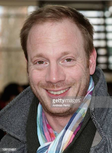 Actor Johann von Buelow attends the Hesse movie reception during day six of the 61st Berlin International Film Festival on February 15, 2011 in...