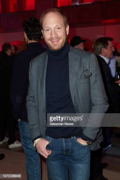 Actor Johann von Buelow attends the Medienboard Pre-Christmas Party at Stadtbad Oderberger on December 12, 2018 in Berlin, Germany.