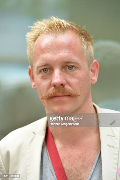 Actor Johannes Zirner attends the FFF reception during the Munich Film Festival 2018 at Praterinsel on July 5 2018 in Munich Germany