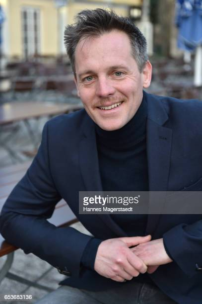 Actor Johannes Zirner during the NdF after work press cocktail at Parkcafe on March 15 2017 in Munich Germany