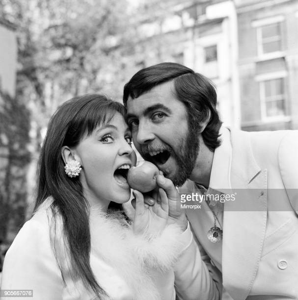Actor John Alderton who plays the school teacher in ITV series 'Please Sir' was today secretly married to actress Pauline Collins They wed at Chelsea...
