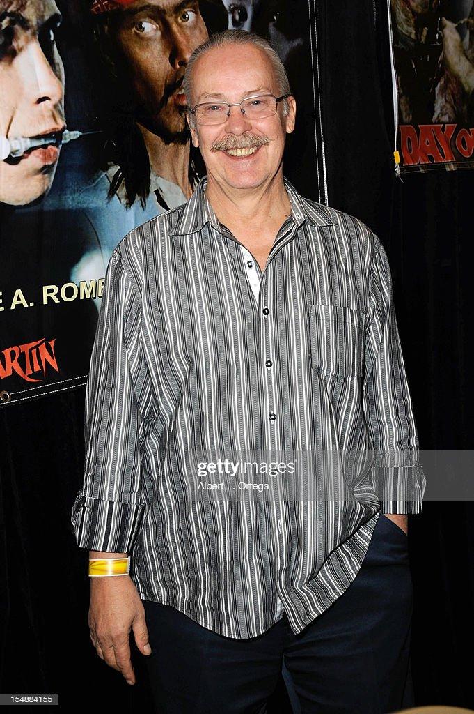 Actor John Amplas attends Son Of Monsterpalooza held at Burbank Marriott Airport Hotel & Convention Center on October 27, 2012 in Burbank, California.