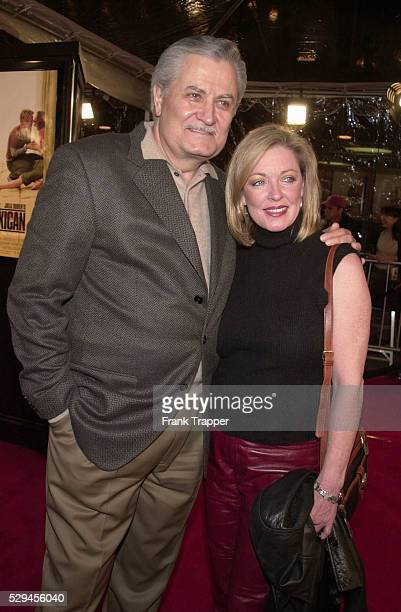 Actor John Aniston and his wife Sherry arrive at the special screening of 'The Mexican'