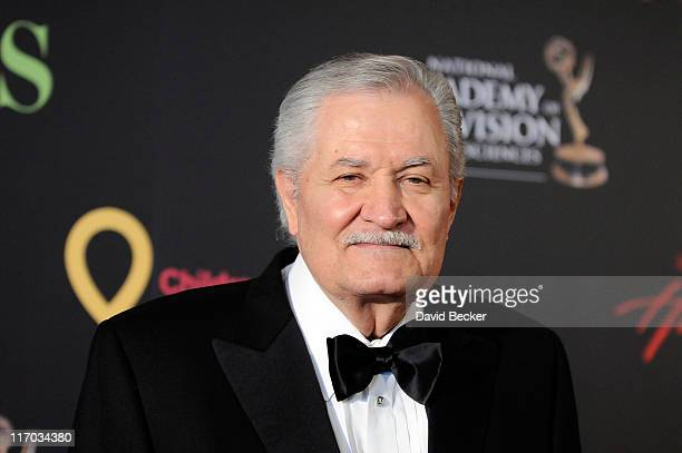 Actor John Aniston arrives at the 38th Annual Daytime Entertainment Emmy Awards held at the Las Vegas Hilton on June 19 2011 in Las Vegas Nevada