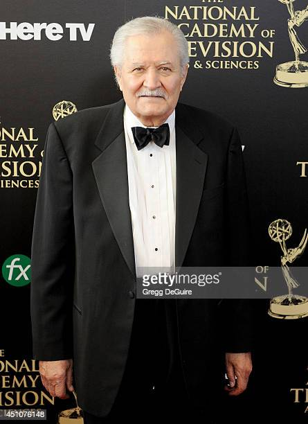 Actor John Aniston arrives at the 41st Annual Daytime Emmy Awards at The Beverly Hilton Hotel on June 22 2014 in Beverly Hills California