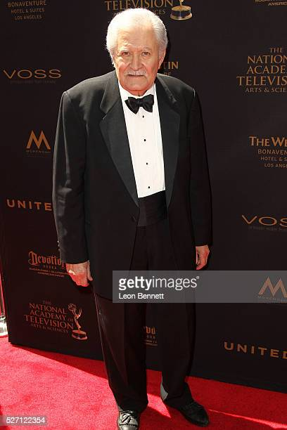 Actor John Aniston attends the 2016 Daytime Emmy Awards Arrivals at Westin Bonaventure Hotel on May 1 2016 in Los Angeles California