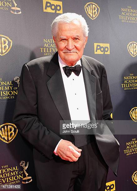 Actor John Aniston attends The 42nd Annual Daytime Emmy Awards at Warner Bros Studios on April 26 2015 in Burbank California