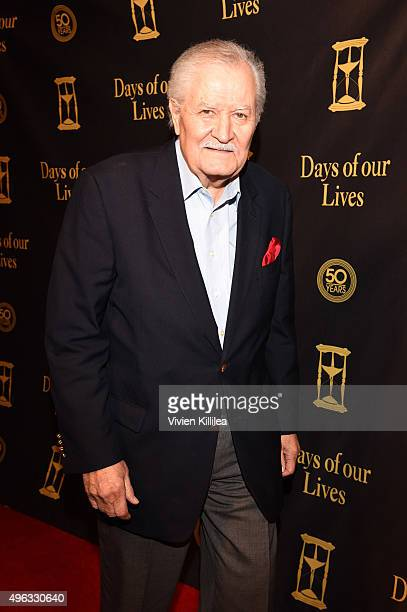 Actor John Aniston attends the Days Of Our Lives' 50th Anniversary Celebration at Hollywood Palladium on November 7 2015 in Los Angeles California