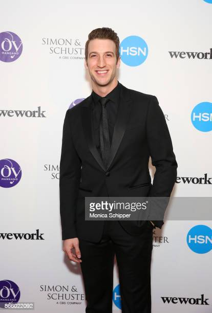 Actor John Arthur Greene attends as inventor and entrepreneur Joy Mangano celebrates the release of her first book INVENTING JOY at WeWork on October...
