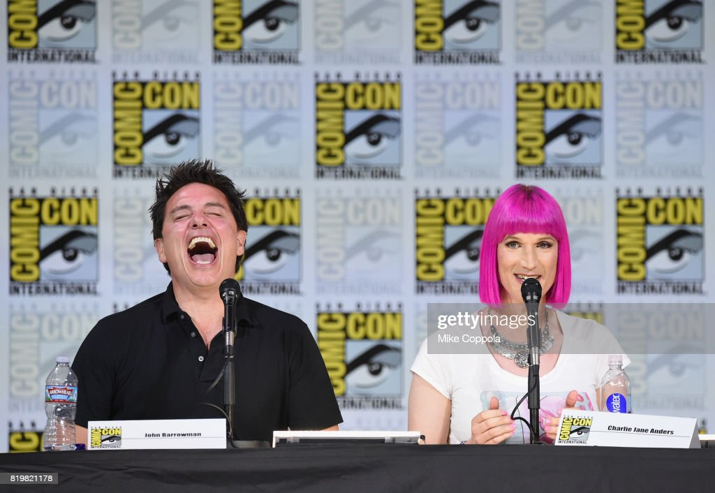 Comic-Con International 2017 - SYFY Hosts The Great Debate : News Photo