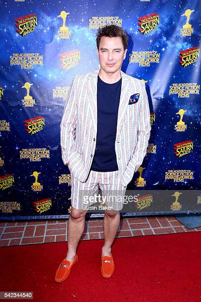 Actor John Barrowman arrives for the 42nd Annual Saturn Awards at The Castaway on June 22 2016 in Burbank California