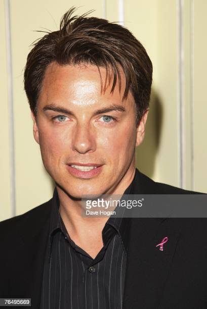Actor John Barrowman attends the 2007 TV Quick and TV Choice Awards at the Dorchester Hotel September 3 2007 in London England