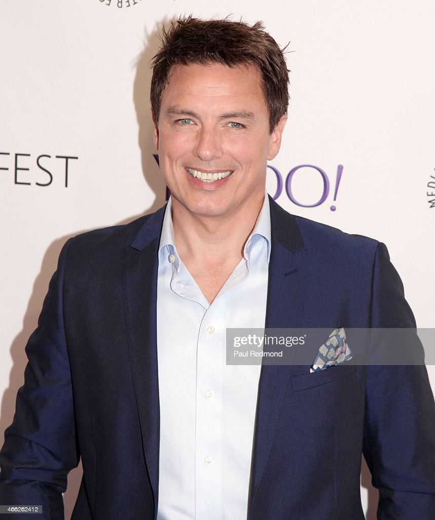 Actor John Barrowman attends The Paley Center For Media's 32nd Annual PALEYFEST LA - 'Arrow' And 'The Flash' at Dolby Theatre on March 14, 2015 in Hollywood, California.