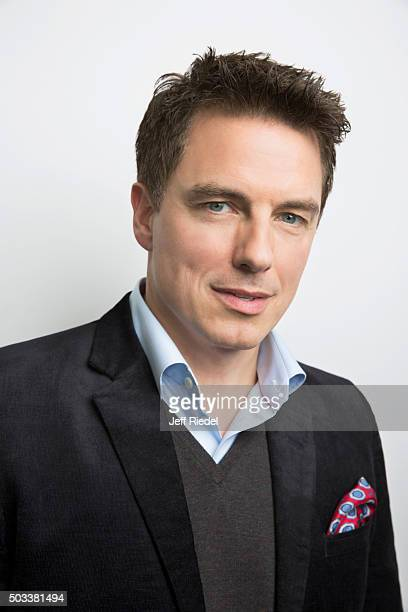 Actor John Barrowman is photographed for TV Guide Magazine on January 17 2015 in Pasadena California