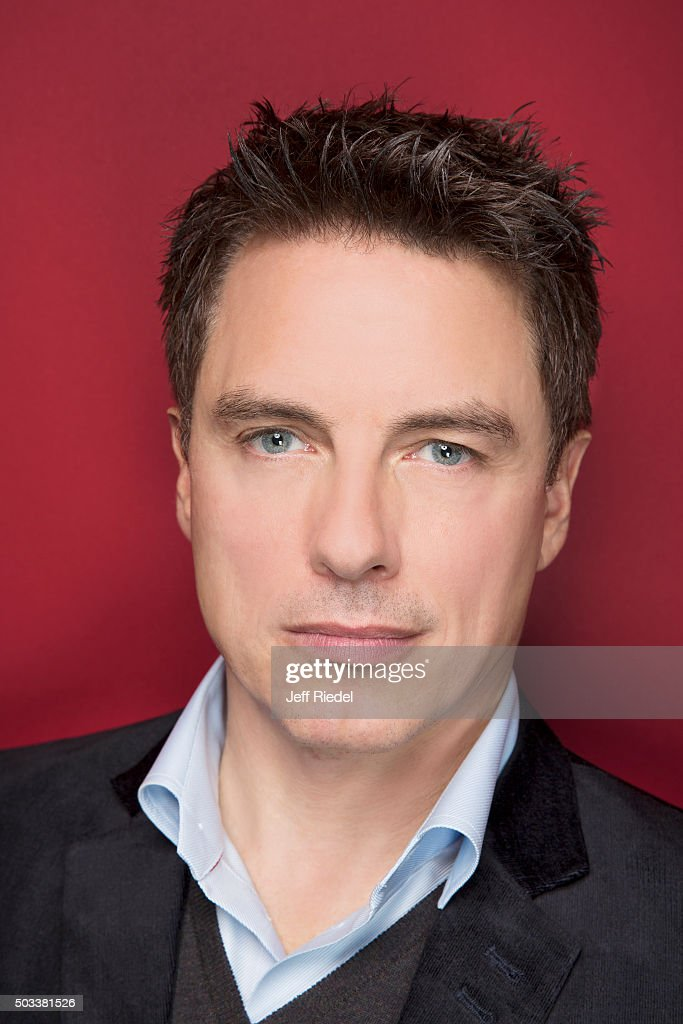 Actor John Barrowman is photographed for TV Guide Magazine on January 17, 2015 in Pasadena, California.