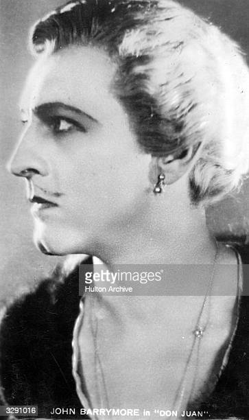 Actor John Barrymore as 'Don Juan' in a story of the exploits of the famous lover and adventurer at Lucretia Borgia's court The film was directed by...