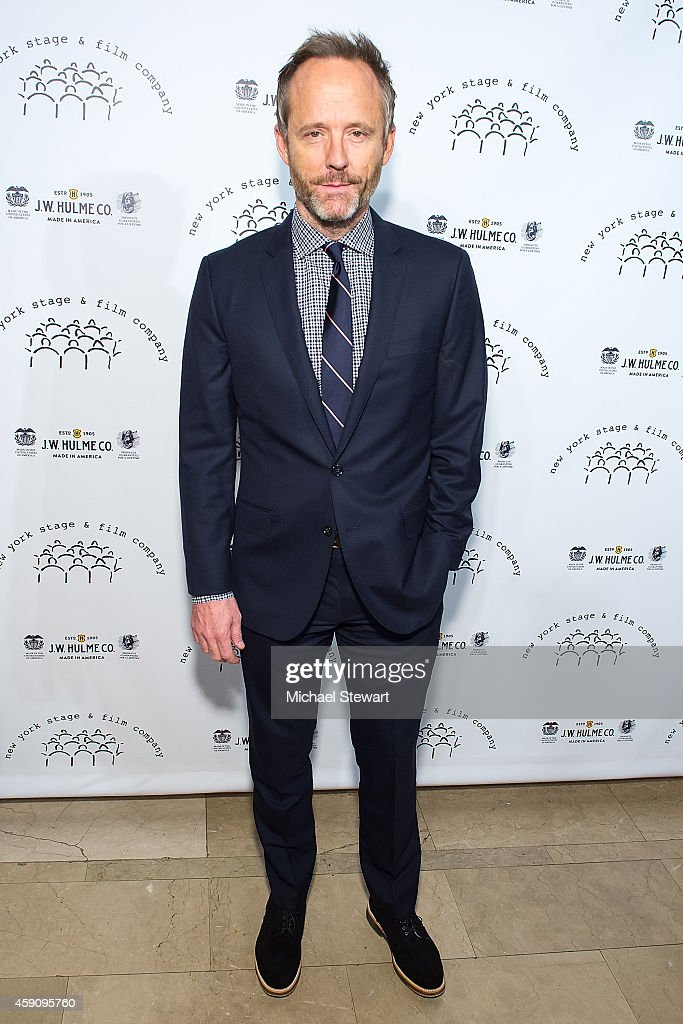 Actor John Benjamin Hickey attends the 2014 New York Stage And Film Winter Gala at The Plaza Hotel on November 16, 2014 in New York City.