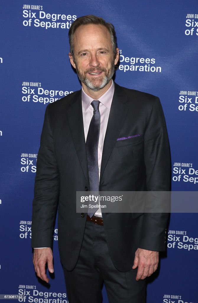 Actor John Benjamin Hickey attends the 'Six Degrees of Separation' Broadway opening night after party at Brasserie 8 1/2 on April 25, 2017 in New York City.