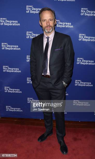 Actor John Benjamin Hickey Attends The Six Degrees Of Separation Broadway Opening Night After
