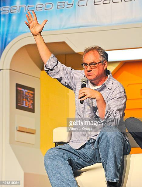 Actor John Billingsley on Day 1 of the 14th Annual Official Star Trek Convention held at The Rio Hotel on August 6 2015 in Las Vegas United States