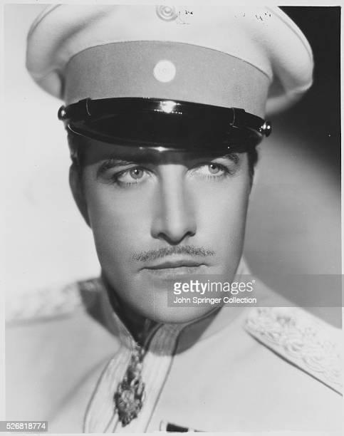 Actor John Boles in a Military Uniform