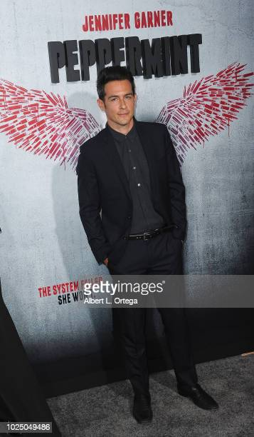 Actor John Boyd arrives for the Premiere Of STX Entertainment's Peppermint held at Stadium 14 on August 28 2018 in Los Angeles California