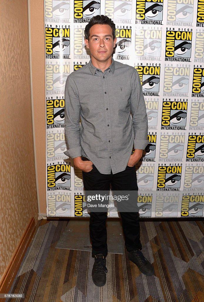 Actor John Boyd attends Comic-Con International 2016 'Bones' press line at Hilton Bayfront on July 22, 2016 in San Diego, California.