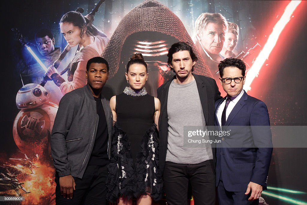 'Star Wars: The Force Awakens' Fan Event In Seoul : News Photo