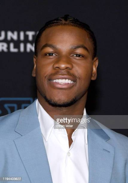 Actor John Boyega attends the premiere of Disney's Star Wars The Rise of Skywalker on December 16 2019 in Hollywood California