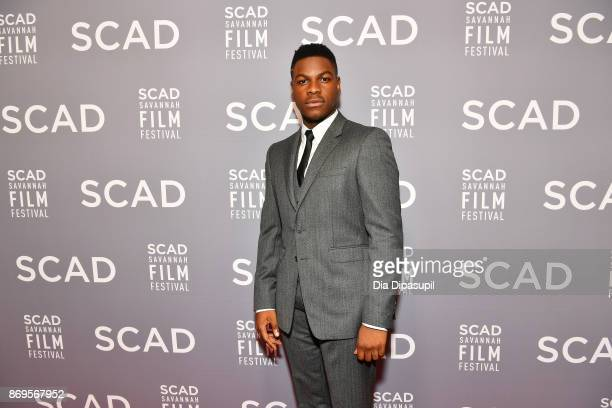 Actor John Boyega attends 'The Shape Of Water' screening at Trustees Theater during 20th Anniversary SCAD Savannah Film Festival on November 2, 2017...