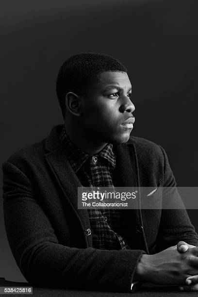 Actor John Boyega is photographed for DuJour Magazine on October 18 2015 in Los Angeles California PUBLISHED IMAGE