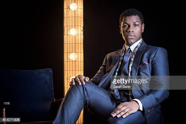 Actor John Boyega is photographed for Empire magazine on March 20 2016 in London United Kingdom