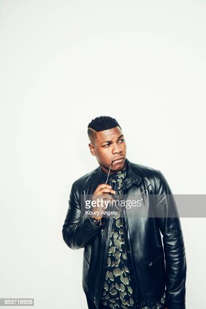 Actor John Boyega is photographed for People Magazine on July 25 2017 at D23 Expo in Los Angeles California