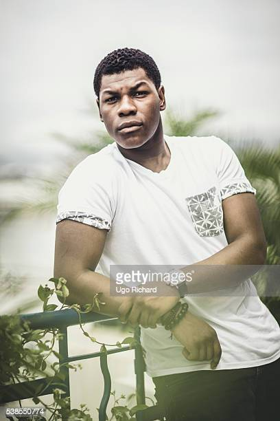 Actor John Boyega is photographed for Self Assignment on May 15 2016 in Cannes France