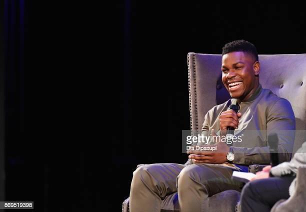 Actor John Boyega onstage at 'Detroit' QA during 20th Anniversary SCAD Savannah Film Festival on November 2 2017 in Savannah Georgia