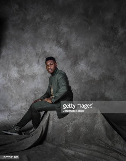 Actor John Boyega poses for a portrait at the Savannah Film Festival on November 2 2017 at Savannah College of Art and Design in Savannah Georgia