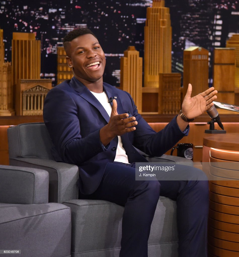 "John Boyega Visits ""The Tonight Show Starring Jimmy Fallon"""