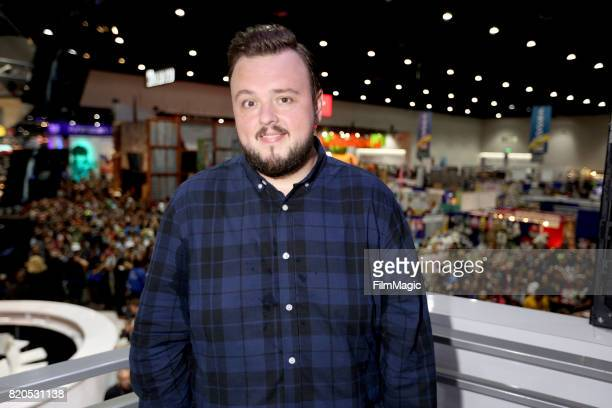 Actor John Bradley at the 'Game of Thrones' autograph signing with HBO at San Diego ComicCon International 2017 at San Diego Convention Center on...