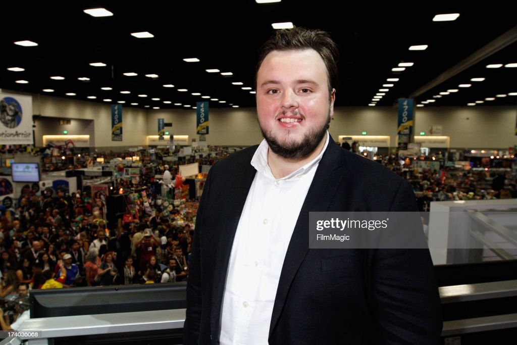 Actor John Bradley attends HBO's 'Game Of Thrones' cast autograph signing at San Diego Convention Center on July 19, 2013 in San Diego, California.