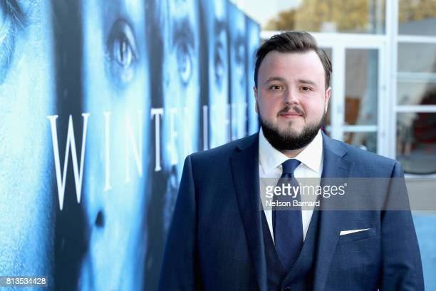 Actor John Bradley attends the premiere of HBO's 'Game Of Thrones' season 7 at Walt Disney Concert Hall on July 12 2017 in Los Angeles California